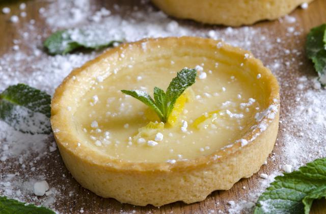 Tartelettes à la crème au citron - Photo par Vincent - 750 Grammes