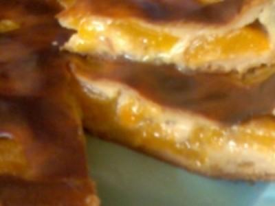 Quiche sucrée aux abricots - Photo par toubka