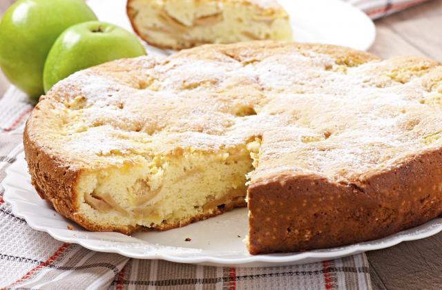 Gâteau aux pommes rapide - Photo par brigit9e0