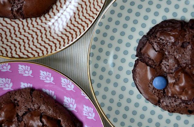 Chocolate Puddle Cookies - Photo par Clémence Laëdis