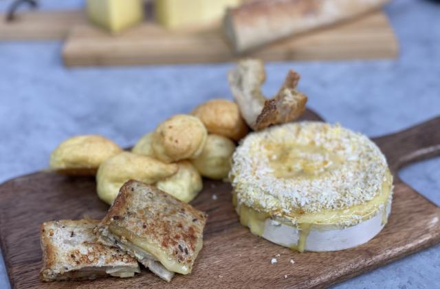 Trio d'apéritifs au fromage - Photo par CNIEL - Les produits laitiers