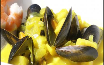 Nage de coquillages et crustacés - Photo par elisah