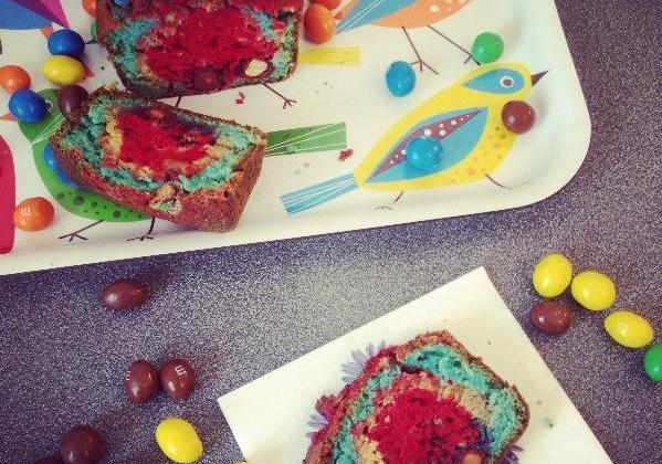 Cake rainbow - Photo par stephanieluvshopping
