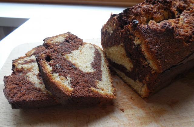 Cake marbré chocolat - cardamome - Photo par carofiH