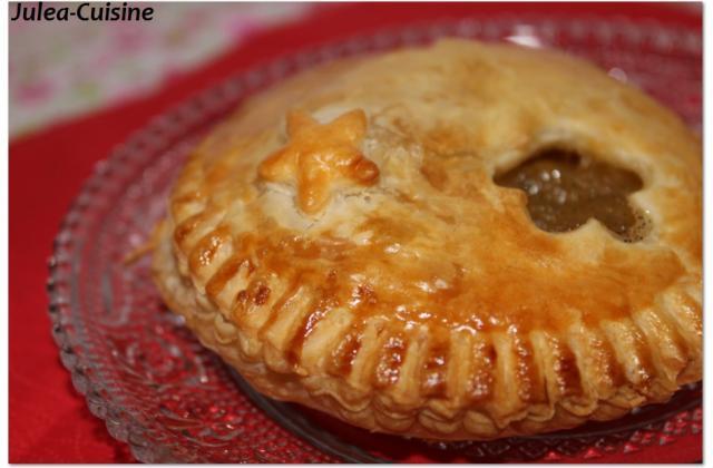 Chausson aux pommes et à la vanille - Photo par juleacuisine