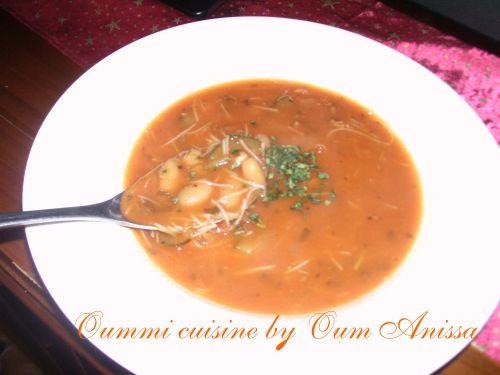 Soupe de haricots blancs - Photo par oum anissa