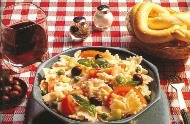 Salade de pâtes au cottage cheese - Photo par Cottage Cheese