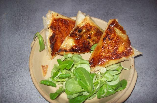 Petit bricks aux fromages et miel - Photo par dalyz