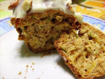 Courgettes-carottes façon cupcakes - Photo par christitine