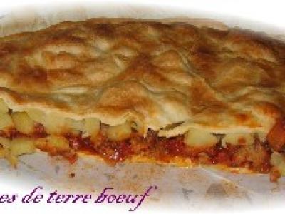 Tourte Pommes de Terre et Bœuf - Photo par delf745