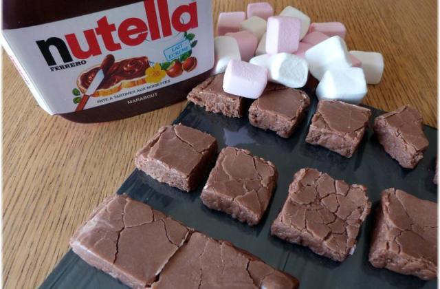 Fudge marshmallows et Nutella... - Photo par Steph unegrainedidee