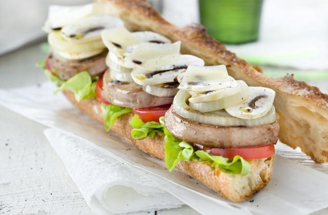 Sandwichs printanier à l'agneau - Photo par Agneau Presto