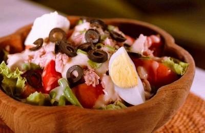 La vraie salade niçoise - Photo par antoin8z