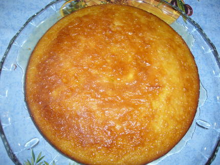 Gâteau à l'orange classique - Photo par mistaf