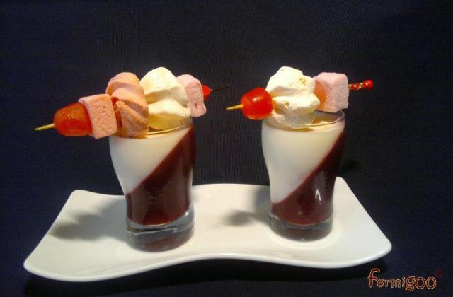Duo chocolat blanc-cassis - Photo par Fermigoo