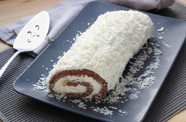 HALTE à la BUCHE de NOEL indigeste, on vous donne les secrets de la bûche roulée sans crème au beurre - Photo par 750g