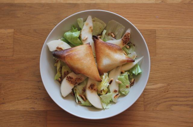 Salade de chèvre chaud croquante - Photo par Mel's way of life