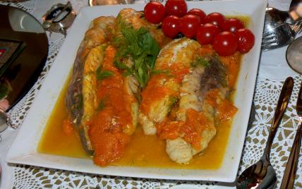Lotte à la compotée d'abricots safranés - Photo par pascal2o