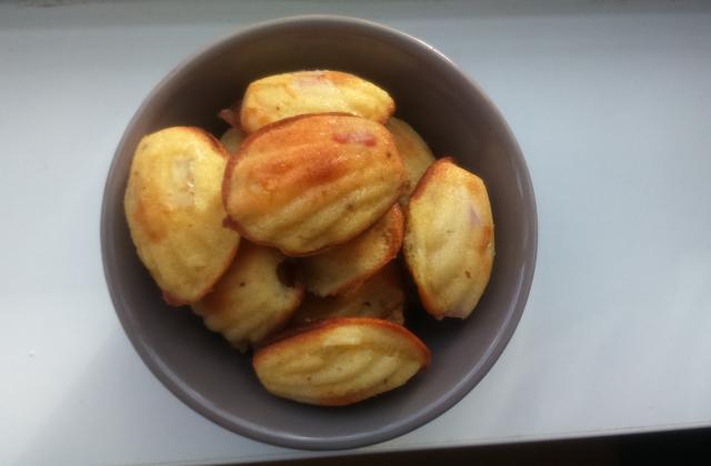 Mini-madeleines à la moutarde et au jambon - Photo par lesliewp