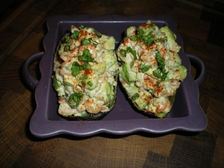 Avocat aux crevettes - Photo par manouska