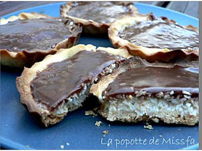 Tartelettes bounty - Photo par lapopoD