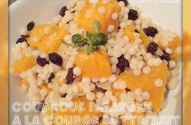Couscous Israélien à la courge butternut - Photo par chouchMz