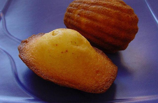 Madeleine à déguster sucrée ou salée - Photo par Miss de la Cuisine