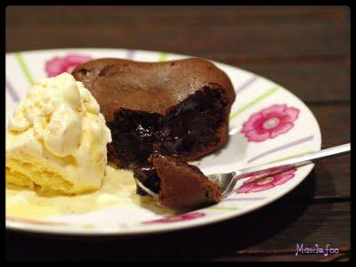 Moelleux chocolat cœur café corsé - Photo par mimilafee