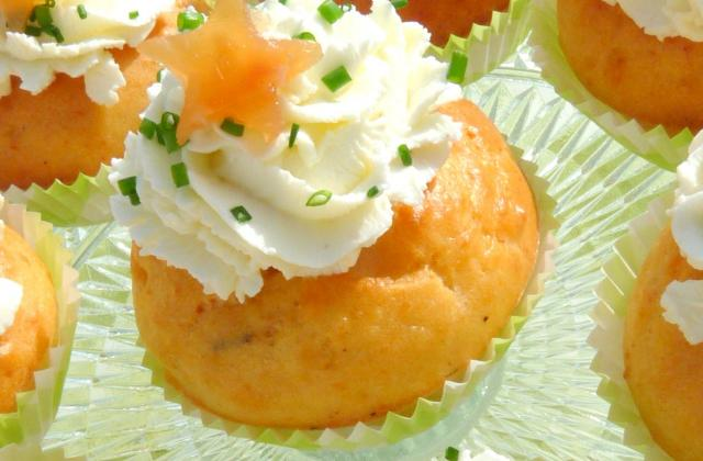 Cupcakes saumon fumé - Photo par titeniJ