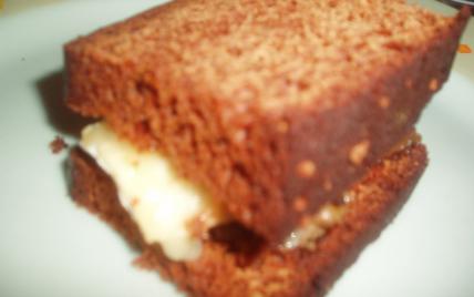 Croque Monsieur, foie gras, chaource et pain d'épices - Photo par brevesdecuisine