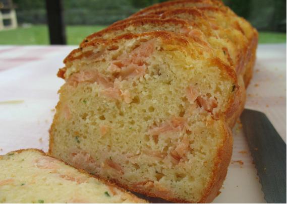 Cake au saumon fumé - Photo par lealau