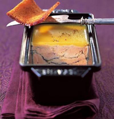Terrine de foie gras mi-cuit - Photo par Mickydauphin