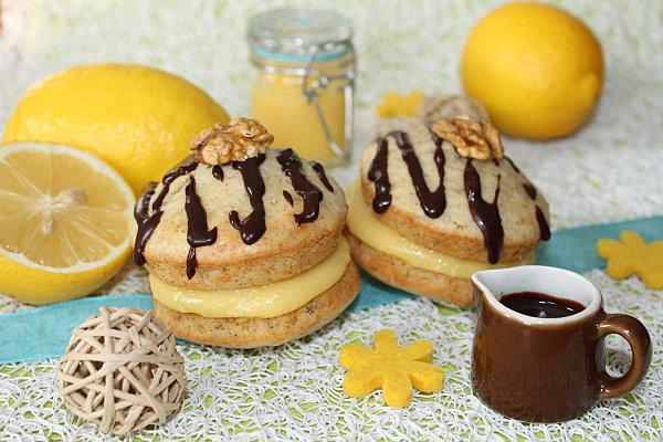 Whoopies Pie au lemon curd - Photo par looxor