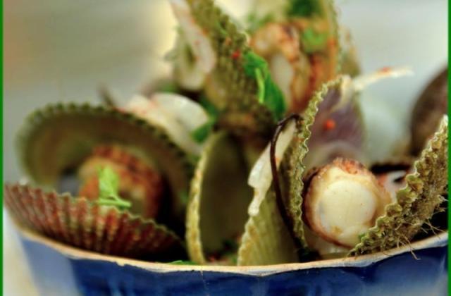 Pétoncles à l'italienne - Photo par Chef Damien