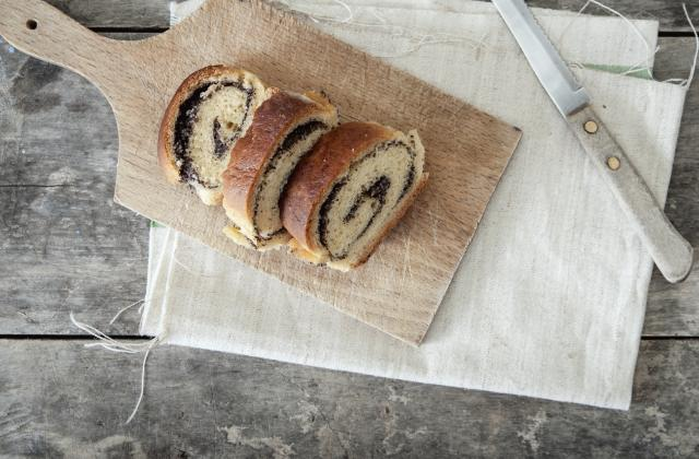 Gâteau roulé au Nutella, façon gênoise - Photo par estellepanet