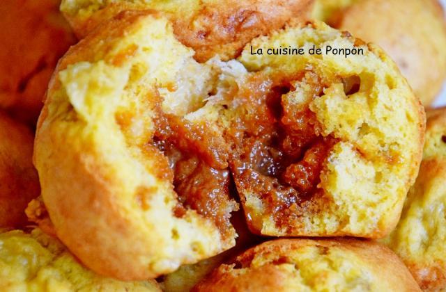 Muffin banane au caramel au beurre salé - Photo par Ponpon