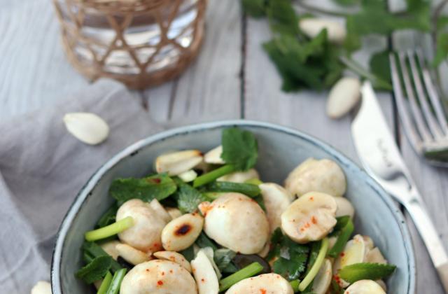 Osez la salade de champignons - Photo par Cricri les petites douceurs