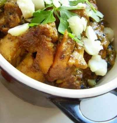 Curry de haddock aux noix de macadamia - Photo par surviv