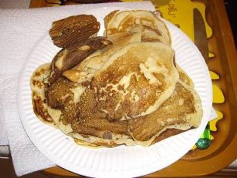 Pancakes rapides au sucre vanillé - Photo par justyne
