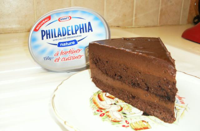 Sacher choco et philadelphia - Photo par virginQY1
