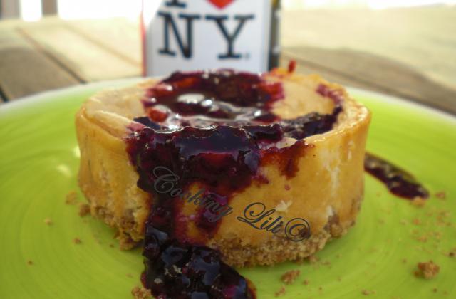 Cheesecake à la vanille - Photo par Cooking lili