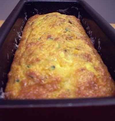 Cake courgette, carotte, anchois et noix - Photo par lebotsc