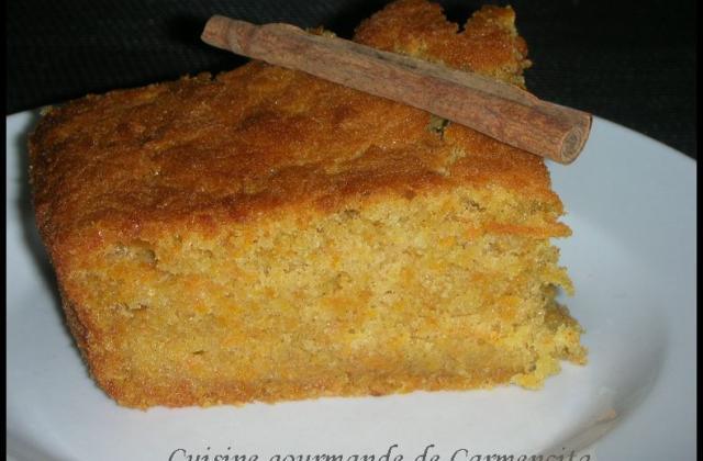 Gâteau de carottes au mascarpone - Photo par Carmen