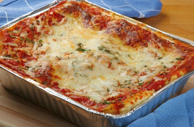 Lasagnes aux légumes et fromage à raclette RichesMonts - Photo par 750g