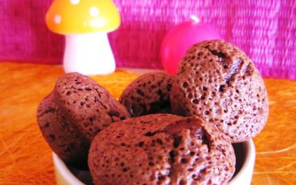 Mini moelleux au chocolat et à la purée d'amandes - Photo par LesPtitesBulles