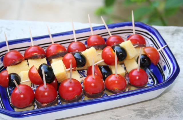 Brochettes estivales faciles - Photo par melaniM2g