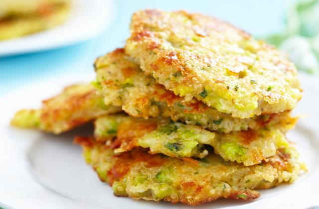 Galettes de courgettes et riz - Photo par Uncle Ben's®