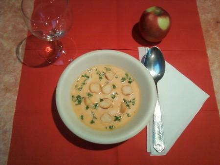 Soupe aux carottes au curry et lait de coco - Photo par Membre_485434