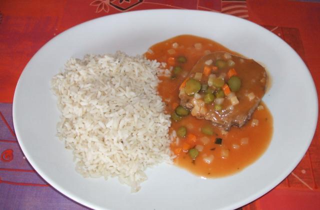 Langue de boeuf (sauce éric) - Photo par dethye eric