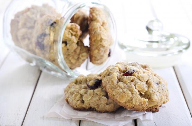 Cookies aux cranberries maison - Photo par crumble